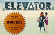 20170626 Elevator wint serious play award.png